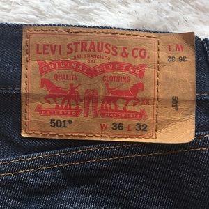 Levi's 501 men jeans 36/32